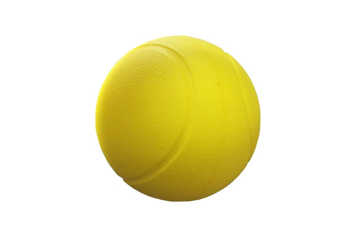 Foto eines Soft-Tennisballs aus Schaumstoff