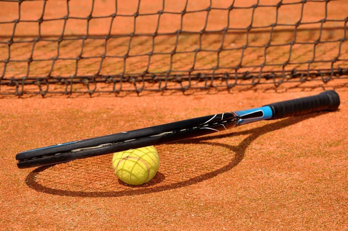 Foto des Rahmens eines Tennisschlägers