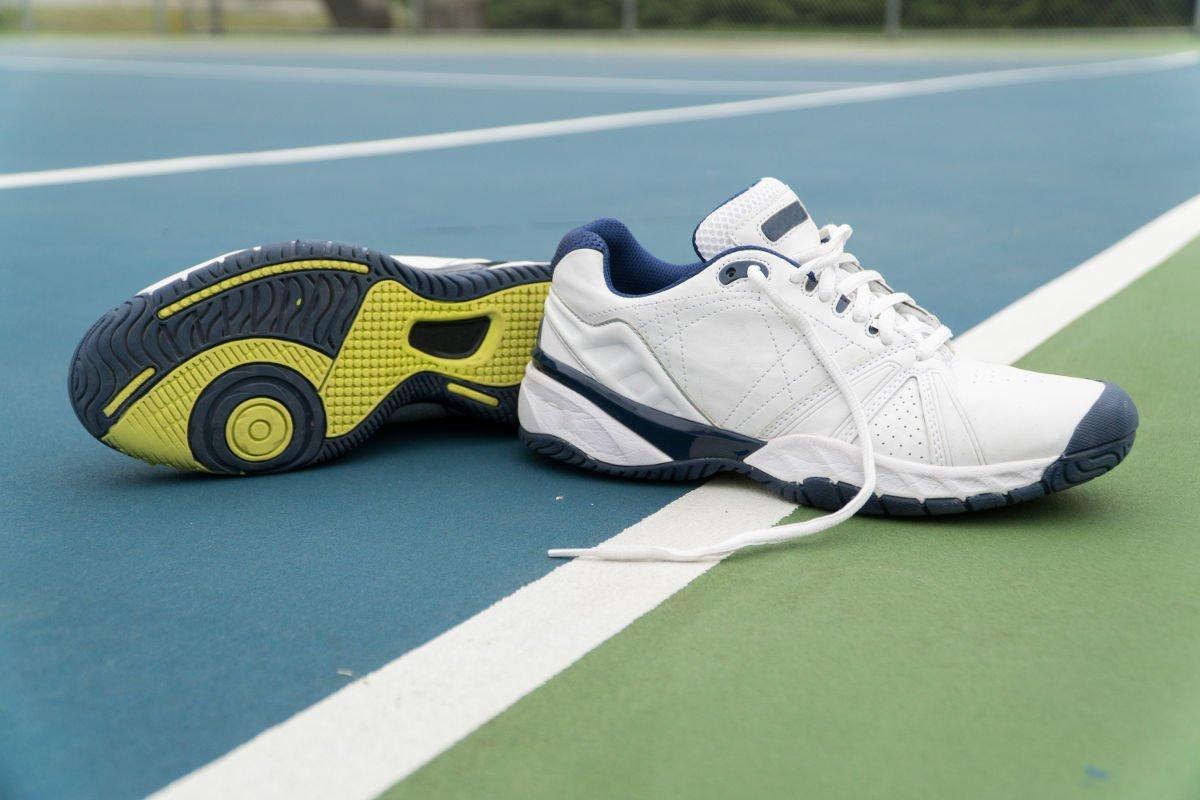 Foto von Tennisschuhen für den Hardcourt